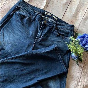 Calvin Klein Dark Wash Straight Leg Jeans